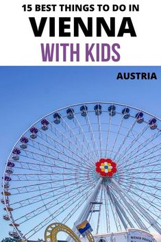 Best things to do in Vienna with kids. Vienna with kids Vienna with kids things to do in Vienna with kids in winter Vienna Austria with kids Vienna for kids Vienna kids Vienna kids things to do Vienna Austria kids trip. Travel Tips For Europe, Travel Destinations, Travel Advice, Travel Guides, European Road Trip, European Travel, Travel With Kids, Family Travel, Family Trips