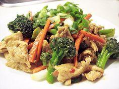 Healthy Asian Chicken Stir Fry