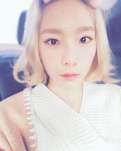 SNSD TaeYeon shared cute pictures from her 'Jeju Samdasoo' shoot