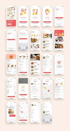 Happy Meals Food Delivery App UI Kit  UI Place - UI Kits - Ideas of UI Kits #UIKits -   Happy Meals Food Delivery App UI Kit  UI Place