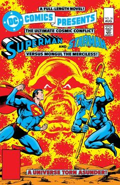 """DC Comics Presents (1978-1986) #36  Superman and Starman team up to battle Mongul and rescue Starman's beloved Merria in """"Whatever Happened to Starman?"""""""