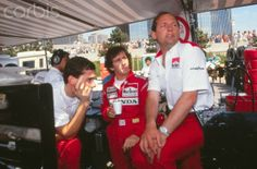 Ayrton Senna / Alain Prost / Ron Dennis