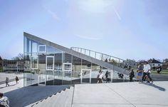 Gallery of Sports & Arts Expansion at Gammel Hellerup Gymnasium / BIG - 7