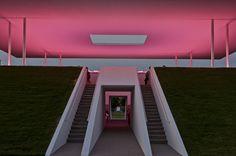La pirámide flotante de James Turrell