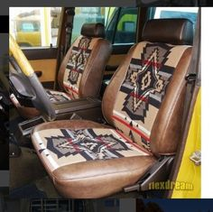 Toyota Land Cru 60 interior sheet replacement: PENDLETON Pendleton * Seat cover will also be produced! Cute Car Accessories, Vehicle Accessories, Truck Interior Accessories, Motorcycle Accessories, Camper, Jeep Wagoneer, Cute Cars, Classic Trucks, Old Trucks