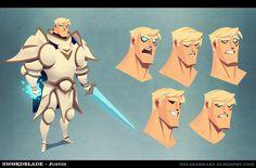 Swordblade - Justin, Johannes Helgeson on ArtStation at http://www.artstation.com/artwork/swordblade-justin