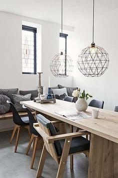 Lámparas con estructura de metal calada | Estilo Escandinavo