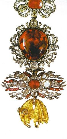 Royalty & their Jewelry - Order of the Golden Fleece (Bavarian Crown Jewels)