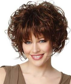 hair styles with short bangs les 25 meilleures id 233 es de la cat 233 gorie coiffures au carr 233 3372 | 7590e365b5d3372ddca38e7878b09039 wedge hairstyles curly bob hairstyles