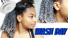 Natural Hair   WASH DAY ROUTINE Start to Finish! [Video] - http://community.blackhairinformation.com/video-gallery/natural-hair-videos/natural-hair-wash-day-routine-start-finish-video/