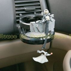 New Jack Nightmare Before Christmas Car Drink Holder (neato!)