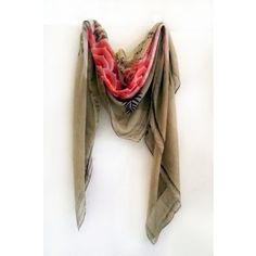 Modern Love Silk Georgette Scarf in Beaded Flower Modern Love, Boston, Silk, Flower, Accessories, Women, Fashion, Moda, Fashion Styles