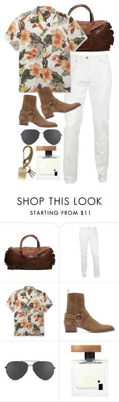 """""""Inspired by Harry Styles"""" by nikka-phillips ❤ liked on Polyvore featuring VIPARO, Burberry, Sandro, Yves Saint Laurent, Illuminum, Uniform Experiment, men's fashion and menswear"""