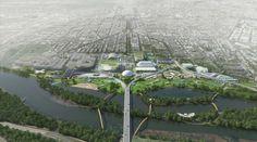 Oma Reveals Plans To Redevelop #Washington Dc's Rfk Stadium Campus