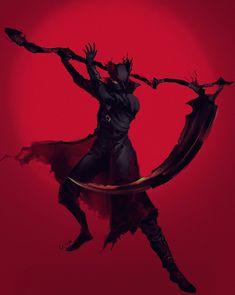 Old Blood, Dark Blood, Character Design Inspiration, Fantasy Inspiration, Bloodborne Art, Soul Game, Dark Souls Art, Death Art, Dark Artwork