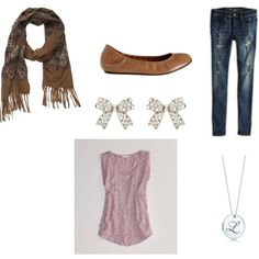 """""""Cute Fall Outfit"""" by cara-weidinger on Polyvore"""