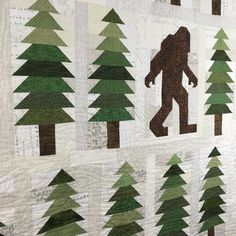 Dining Room Empire Absolutely Legendary Sasquatch Quilt