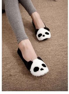 Image via We Heart It https://weheartit.com/entry/152717212/via/15207186 #cute #panda #shoes