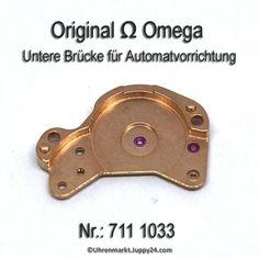 Omega 711 1033 Untere Brücke für Automatvorrichtung, Omega 711-1033 Omega Watch, Vending Machines, Aftermarket Parts
