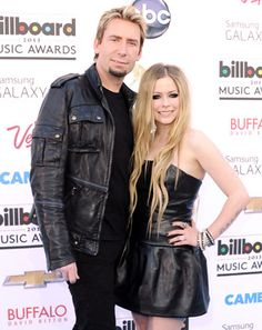 "Avril Lavigne Celebrates ""Wedding Party"" With Chad Kroeger, Not Married Yet"