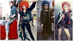 outfits were more than shoulder pads and sequins! Dive into our selection of 100 + vintage looks, including nostalgic trowbacks to your favorite shows! 80s Punk Fashion, 1980s Fashion Trends, Retro Fashion, Womens Fashion, Rock Fashion, Fashion Hats, Jane Fonda, Punk Mode, Hip Hop
