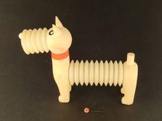 Czechoslovakia Libuse Niklova Rafan the Dog Plastic Squeaky Toy - TOP RARE by VintageRetroEu on Etsy