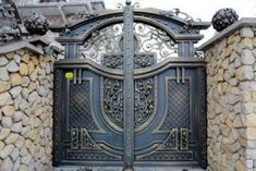 Manufacturer Shutter Doors And Gates India Grill Gate Design, Steel Gate Design, Front Gate Design, Main Gate Design, Window Grill Design, Door Gate Design, House Gate Design, Metal Gates, Wrought Iron Gates
