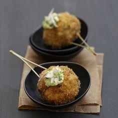 Découvrez la recette des croquettes à la japonaise