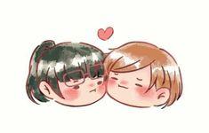 Anime Girlxgirl, Anime Art, Haikyuu, Yuri Comics, Cry Baby, Anime Ships, Otaku, Shoujo, Me Me Me Anime