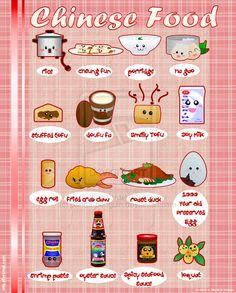 Chinese Foodies   by ~panda-penguin on deviantART