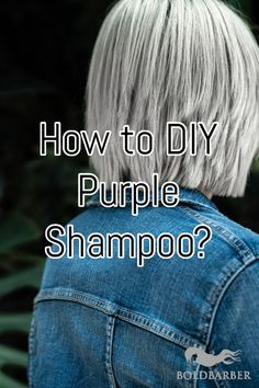 How to DIY Purple Shampoo? One of the many products you're probably well-aware of if you are a blonde is the purple shampoo. Here's how to make your own purple shampoo! Purple Shampoo Toner, Violet Shampoo, Hair Toner, Diy Shampoo, Blonde Hair Tips, Yellow Blonde Hair, Diy Hairstyles, Pretty Hairstyles, Hair