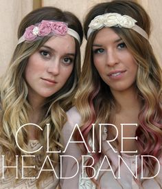 Claire Head Band | Available in white at Apricot Lane Center Valley