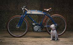 Restored Ducati Cucciolo Puppy Bike by Analog Motorcycles | InsideHook