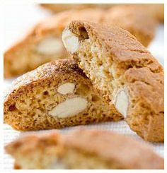 """Also known as the """"Italian cookie,"""" Sunrise biscotti recipe uses tofu to replace the eggs that are traditionally found in this recipe, making it vegan friendly! Italian Cookies, Biscuit Cookies, Tofu Recipes, Eat Smarter, Sugar And Spice, Recipe Using, Almond, Simple, Healthy Eating"""