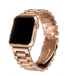 Apple watch sport strand band, Link band, Series 1 2 3 4 Stainless Steel, US Fast shipping Apple Watch Stainless Steel, Rose Gold Rolex, Apple Watch Features, Apple Watch Bands Fashion, Smartwatch, Pug Life, Apple Watch Accessories, Sterling Silver Cufflinks, Accesorios Casual