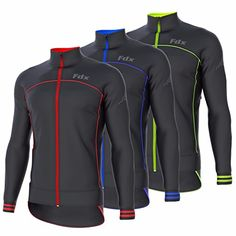 FDX Mens Cycling Jacket Wind stopper Thermal Softshell Breathable Running  Jacket 16bd0287e