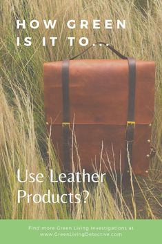 Many fashion brands have said the same thing I do about green products.If there is an alternative that doesn't compromise quality, durability, sustainability and longevity, they'll use it. The fact that many major fashion houses aren't using leather alternatives yet says something. So, is classic leather a sustainable fabric? Follow the link to find out! >>>> #sustainablefashion #fashion #leather #veganleather #fastfashion #greenliving #ecofriendly #fabric #plasticfree Sustainable Fabrics, Sustainable Fashion, Classic Leather, Fast Fashion, Things To Buy, Vegan Leather, Sustainability, Fashion Brands, How To Find Out