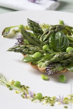 Asparagus Pea, Parmesan Asparagus, Tartelette, French Food, Vegetable Dishes, Shortbread, Green Beans, Vegetarian Recipes, Side Dishes