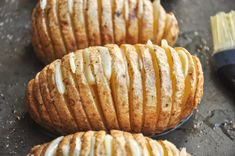 Garlic Herb Hasselback Potatoes