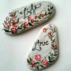 Painted Stones, art steines