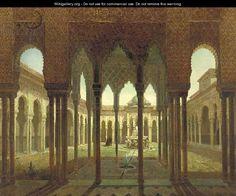 Vista del Palacio de La Alhambra