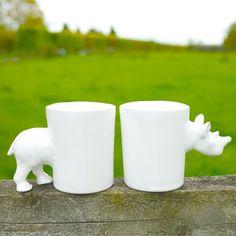 Yas-Ming Ceramics - Zoological Comical Mugs  http://www.bamarang.co.uk/yas-ming/