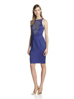 Alexia Admor Women's Embellished Sheath Dress (Royal/Multi)