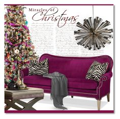 """""""A Colorful Christmas"""" by debraelizabeth ❤ liked on Polyvore featuring interior, interiors, interior design, home, home decor, interior decorating and Viz Glass"""