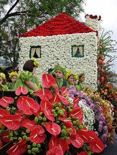 #Madeira Flower Festival, Funchal  Portugal... (Festa das flores  na Ilha da Madeira)