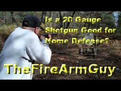 Is a 20 Gauge Shotgun Good for Home Defense? - TheFireArmGuy - YouTube
