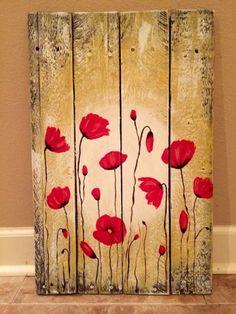 decoração painel de madeira