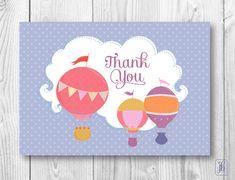 Thank You Note Cards | Balloon Ride Thank You Notes