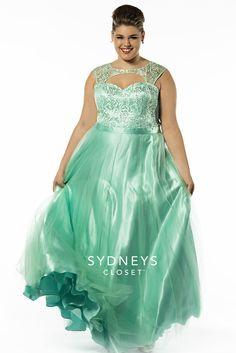 sydneys closet sc7106 plus size formal dress | wedding stuff