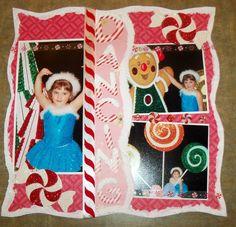 Christmas Dance Recital Page 1 - Scrapbook.com